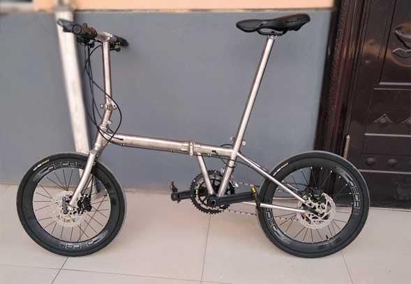 titanium-bicycle